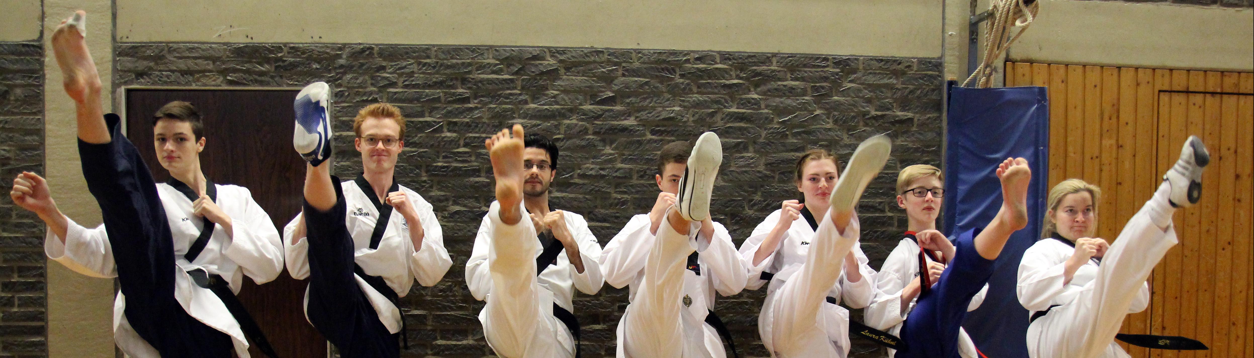 Taekwondo Kerpen | Das SSK-Taekwondo-Team
