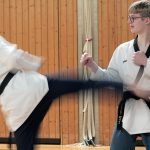 Probetraining beim SSK-Taekwondo-Team Kerpen
